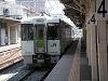 長野駅で飯山線に乗り換え