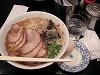 黒亭で大盛チャーシュー麺